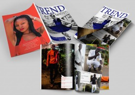 Trend Fashion Catalogue Mock Up Design