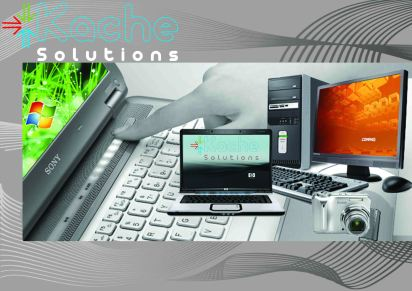 Kache Solutions Company Profile Design