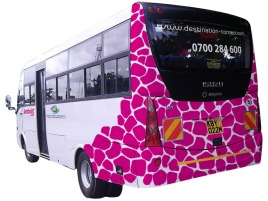 Jambojet Vehicle Branding (back)