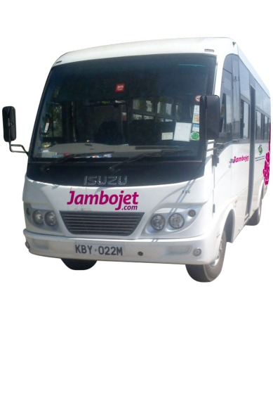 Jambojet Vehicle Branding (front)