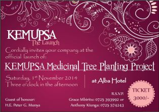 KEMUPSA Invitation Card Design