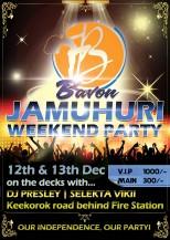 Club Bavon Poster Design