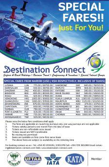 Destination Connect Mailshot Banner Design