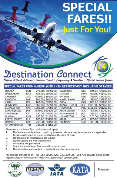 Destination Connect Mailshot Banner Design
