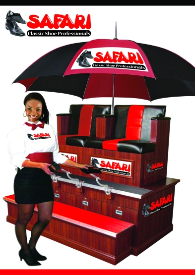 Safari Shoe Professional Stand Design
