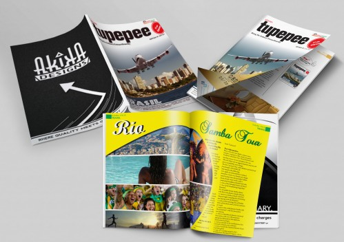 Tupepee Magazine Mock Up Design
